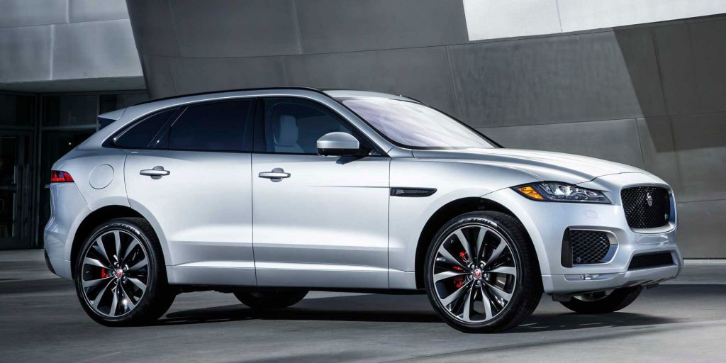 The First Ever Jaguar Suv The Jaguar F Pace The Official