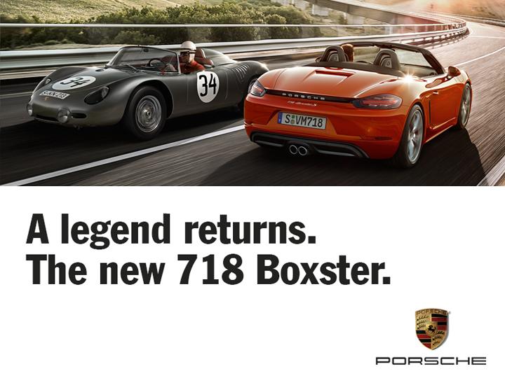 PORSCHE 718 BOXSTER TEST DRIVE