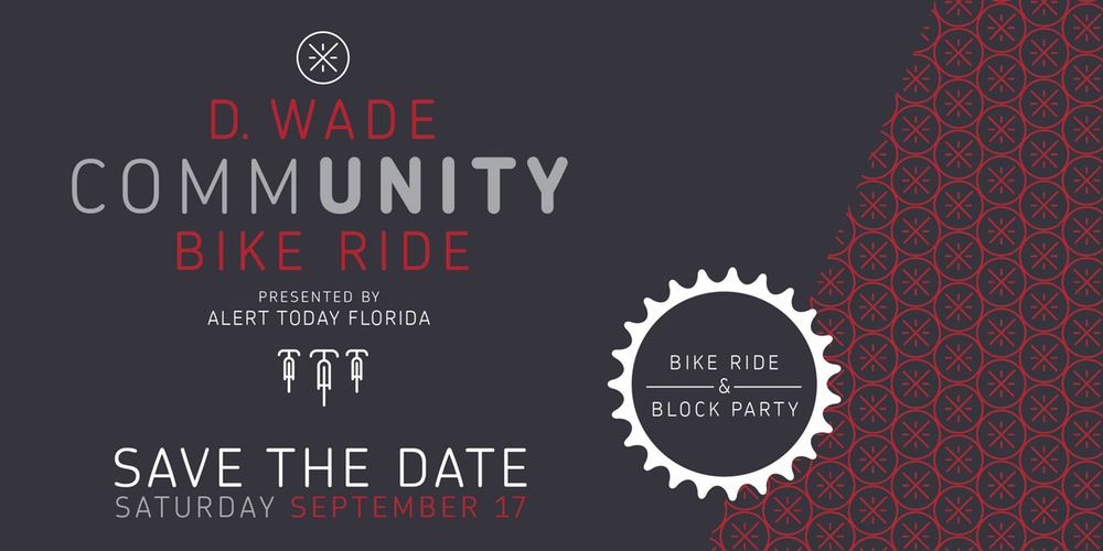DWYANE WADE COMMUNITY BIKE RIDE – REGISTER TODAY!