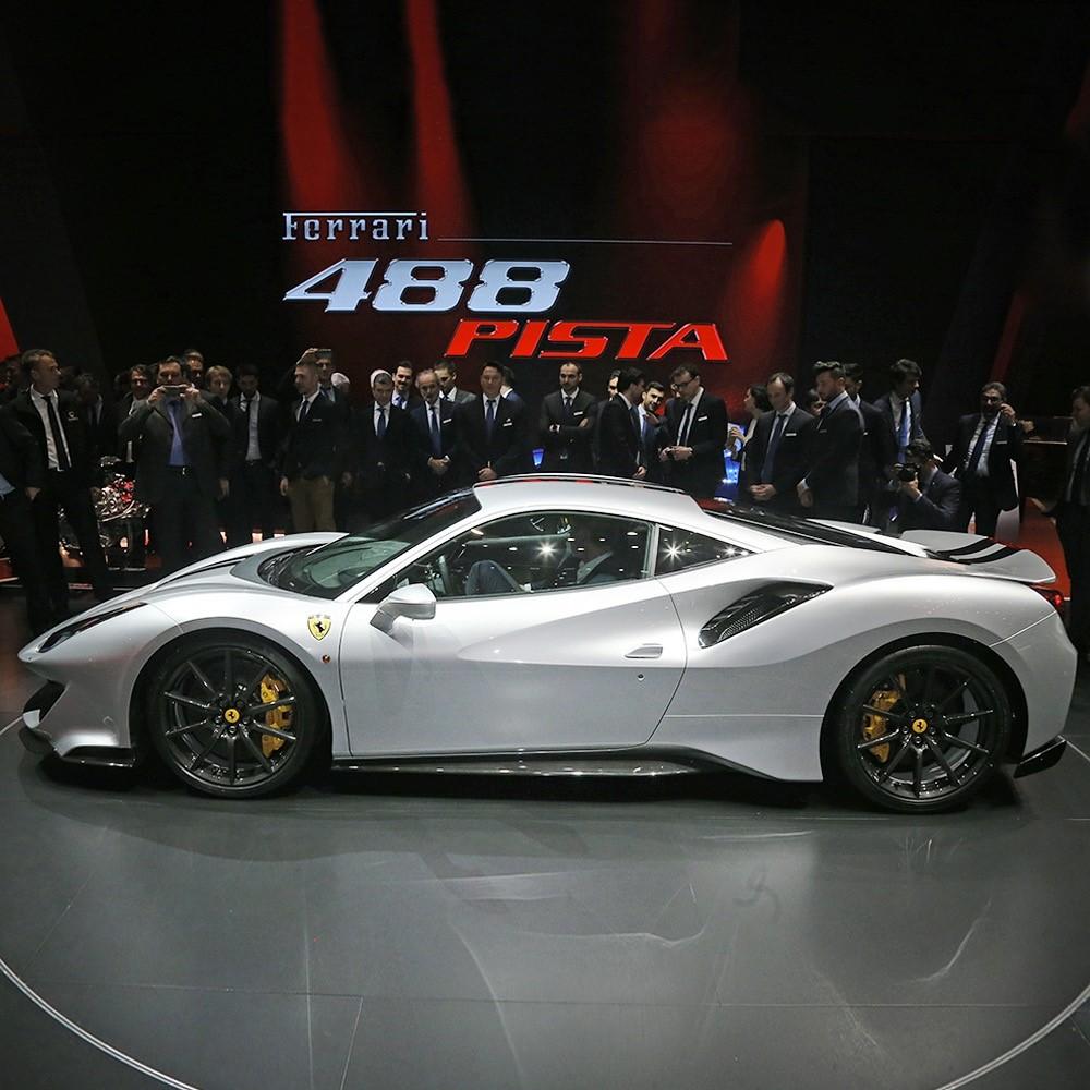 The International Geneva Auto Show 2018