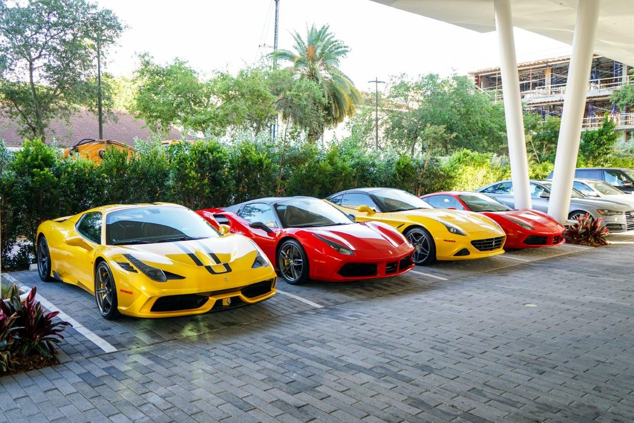 The Collection Ferrari And Ferrari Of Miami In Collaboration With Toys For Boys Magazine And Veuve Clicquot Hold Ferrari Test Drive Event At Mr C S Hotel The Official Blog Of Ken